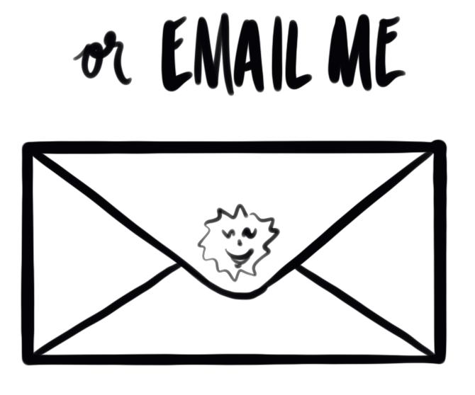 sunny@thatgirlshines.com email address